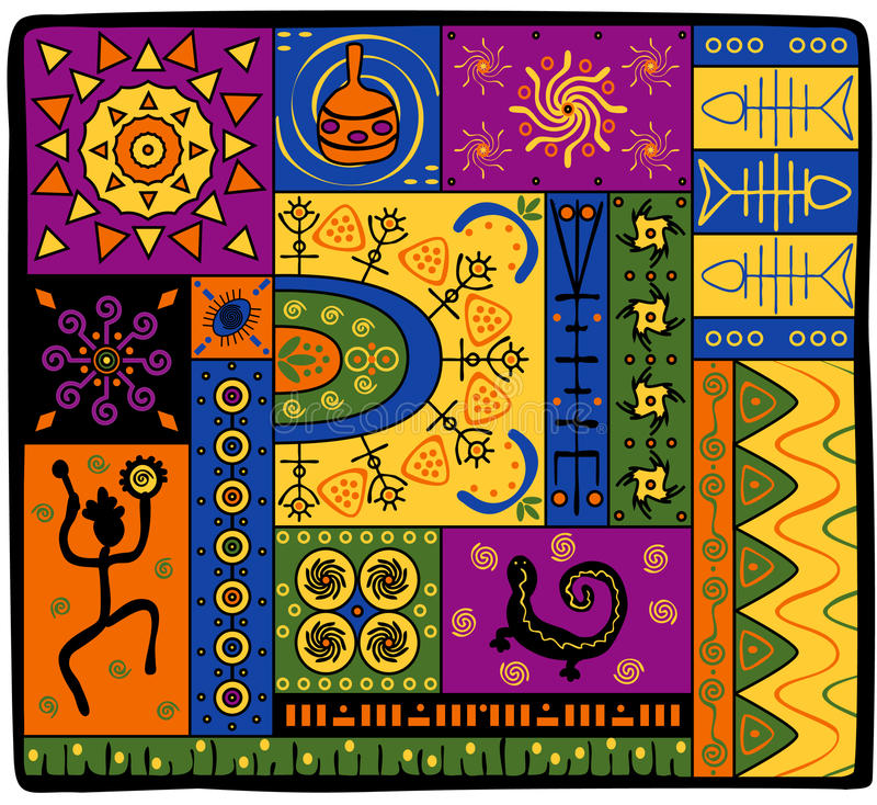 afrykanina wzór