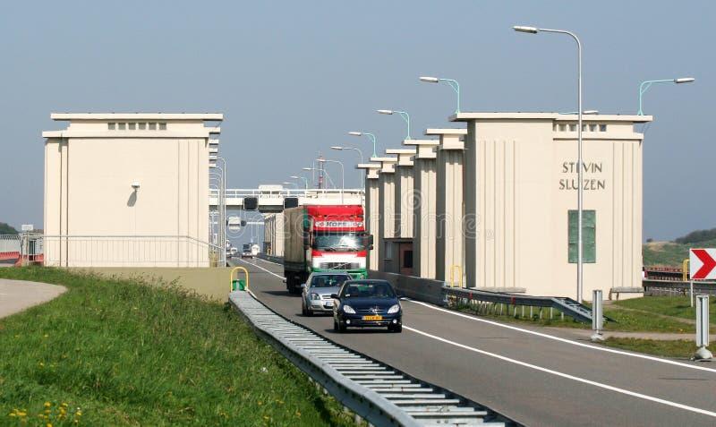 Download Afsluitdijk редакционное фото. изображение насчитывающей работа - 81800871