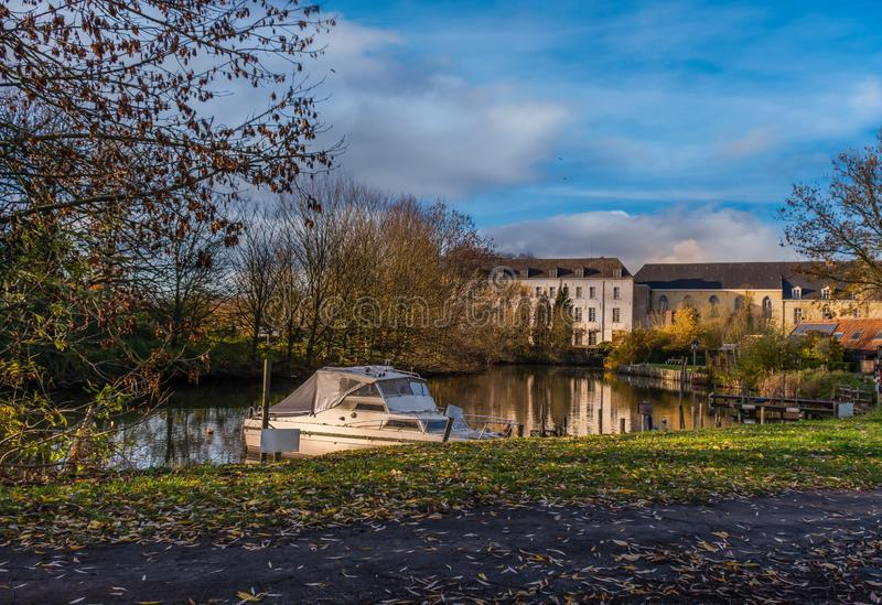 Afsnee-Drongen,比利时 免版税图库摄影