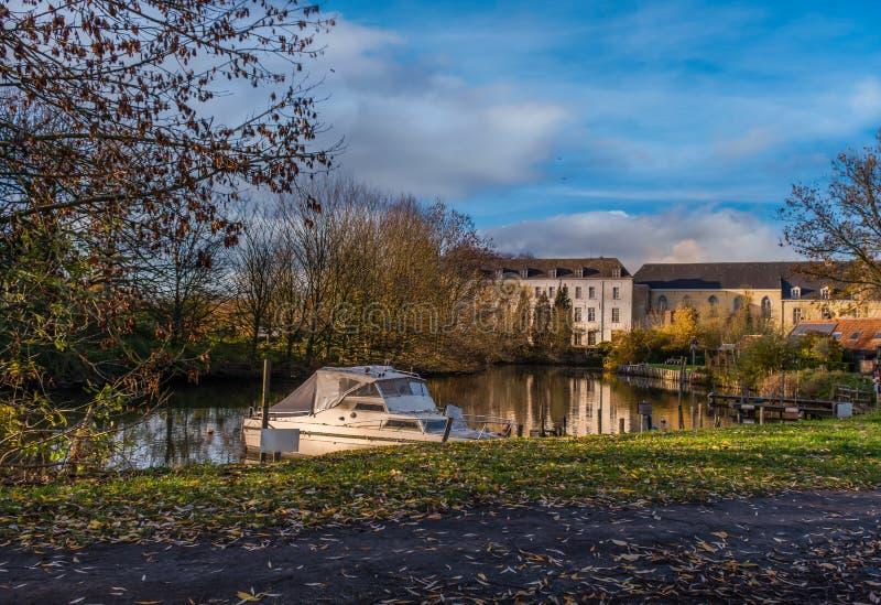 Afsnee-Drongen, Belgio fotografia stock libera da diritti