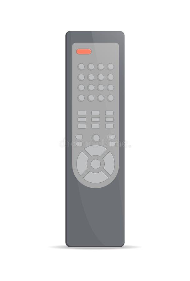 Afstandsbediening voor TV-pictogram vector illustratie