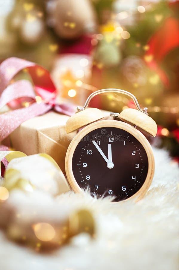 Aftelprocedure tot Kerstmis stock afbeeldingen