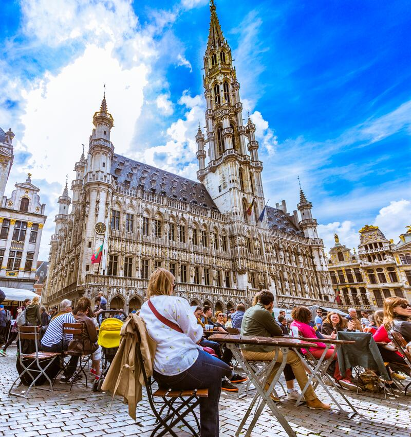 Free After Hours In Brussels Stock Images - 208089134
