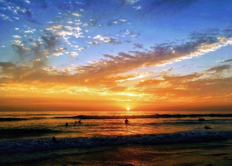 Afterglow, Beach, Clouds, Dawn stock photos