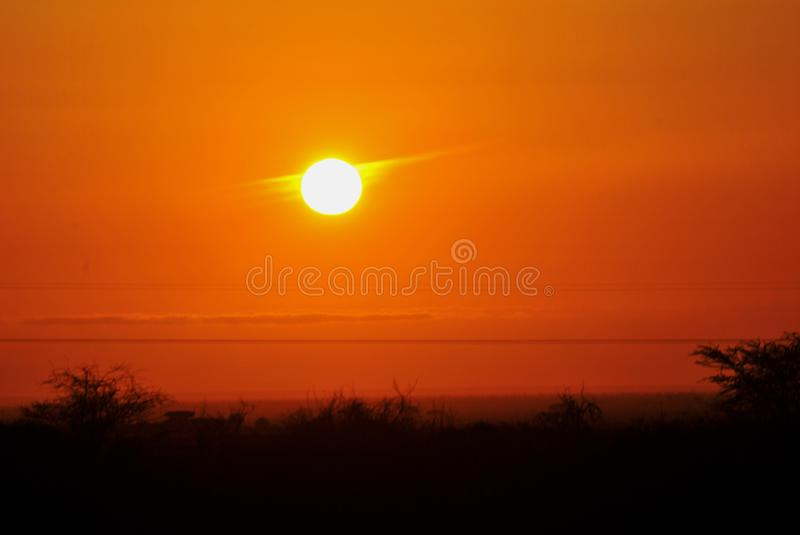 Afterglow, Sky, Red Sky At Morning, Sunrise royalty free stock photography
