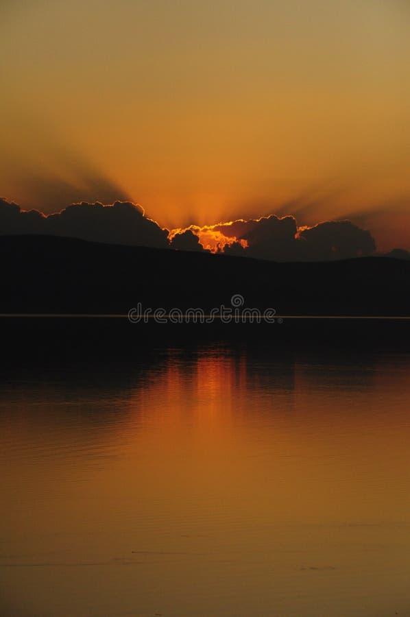 Afterglow, Sky, Reflection, Sunset stock photos