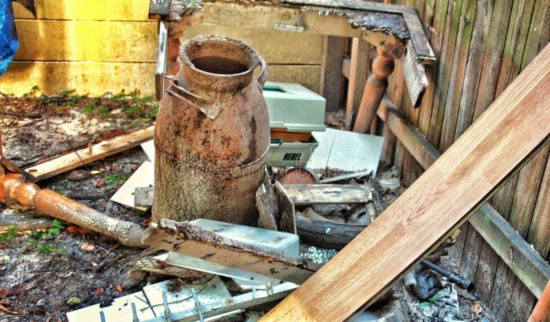 The aftermath of Hurricane Irma debris household items destroyed. The aftermath of Hurricane Irmaâ–ª Debris household items destroyed by Hurricane Irma stock photos