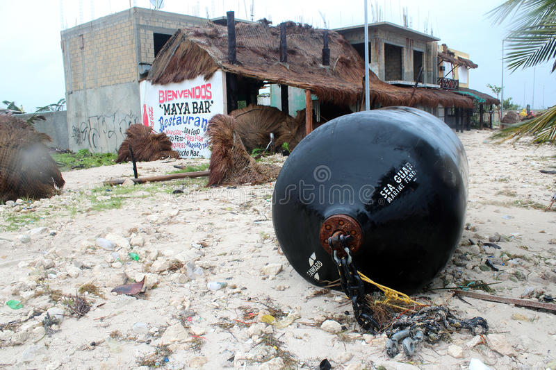 Download Aftermath In Mahahual After Hurricane Ernesto Editorial Photography - Image: 26068867
