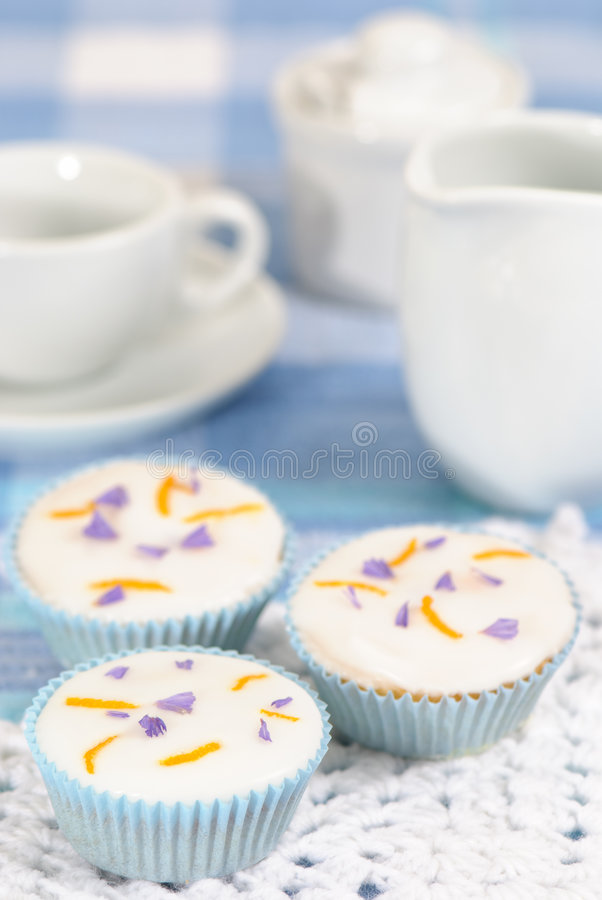 Afternoon Cakes Royalty Free Stock Photo