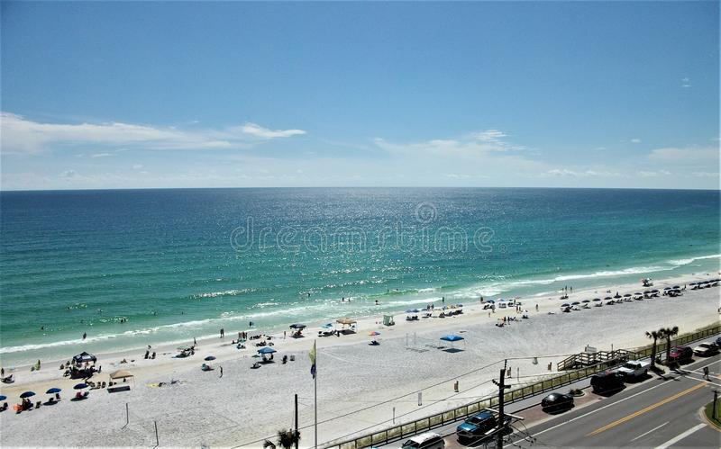 An Afternoon on the Emerald Coast royalty free stock photos