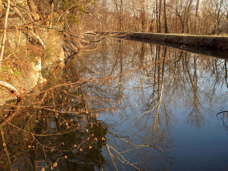 Download Afternoon Light On The Canal Royalty Free Stock Photography - Image: 18761677