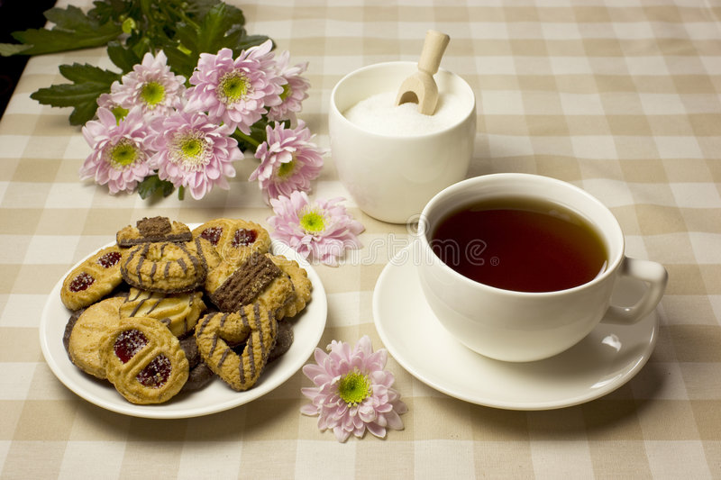 Download Afternoon tea stock photo. Image of afternoon, dessert - 8027026