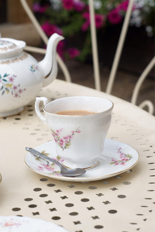 Afternoon tea royalty free stock photos