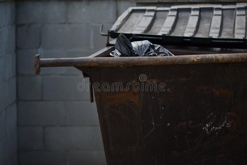 Afval Dumpster royalty-vrije stock fotografie