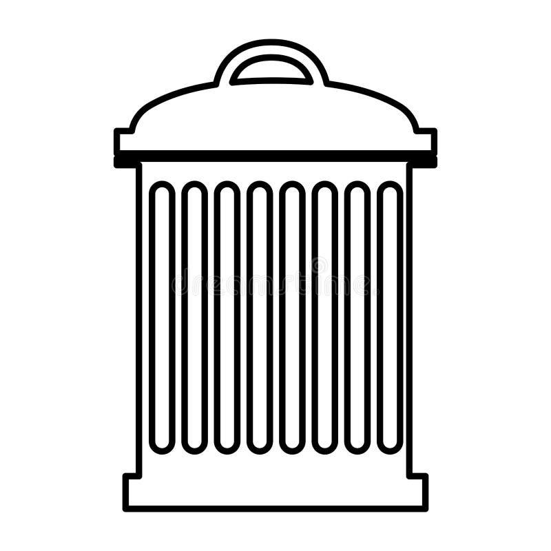 Afvalontwerp vector illustratie