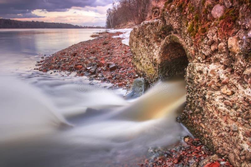 Afvalwater royalty-vrije stock fotografie
