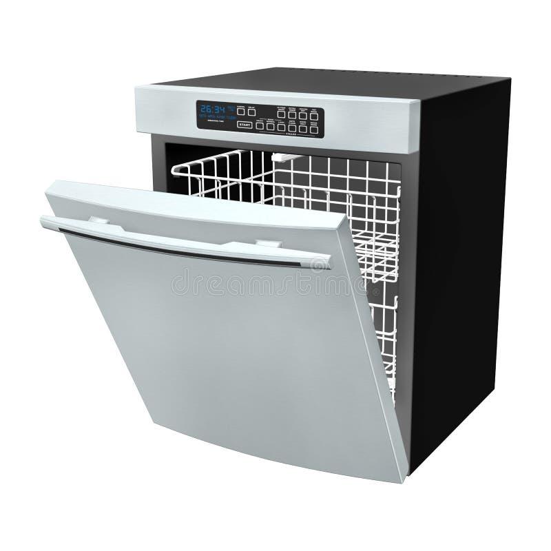 afwasmachine vector illustratie