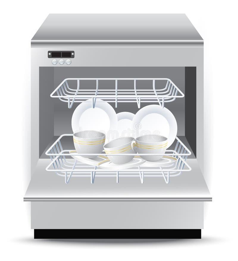 afwasmachine stock illustratie