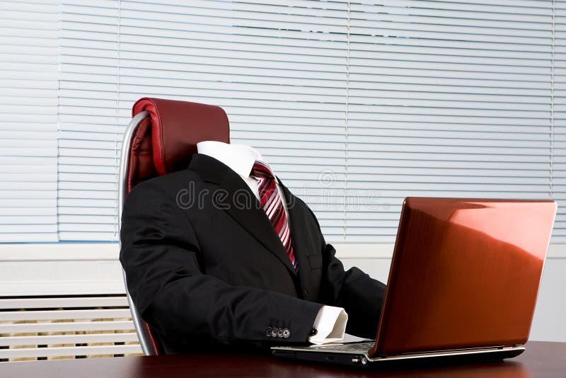 Afwezige werkgever royalty-vrije stock afbeelding