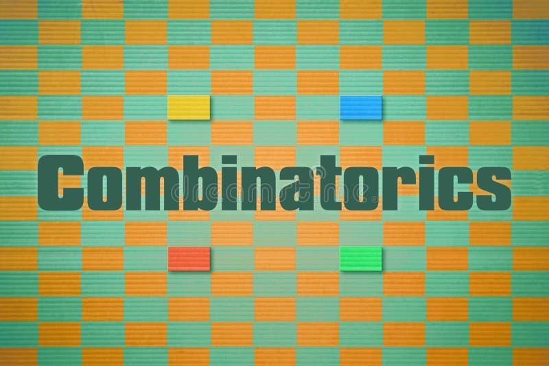 Afzonderlijk woordcombinatoriek vector illustratie