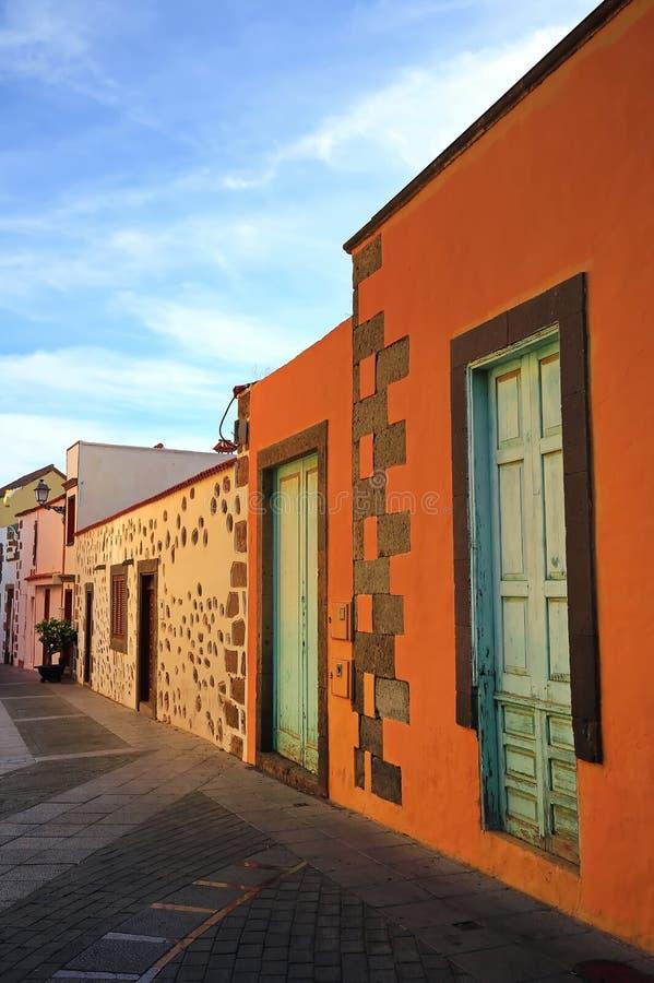 Agà ¼ imes是在大加那利岛的一个自治市 免版税图库摄影