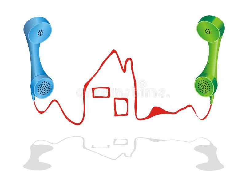 Agência dos bens imobiliários ilustração stock
