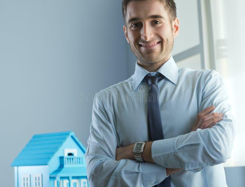 Agência imobiliária real fotografia de stock royalty free