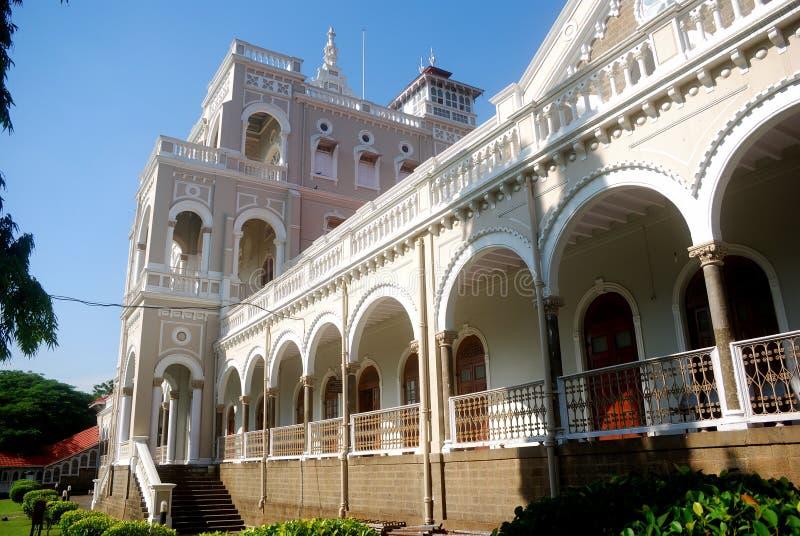 Aga Khan Palace, Pune, Maharashtra, India. The Aga Khan Palace was constructed by Sir Sultan Muhammed Shah Aga Khan III, in the year 1892. Built in Yerwada, near royalty free stock photos