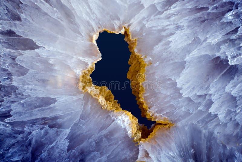 Agaat minerale steekproef stock fotografie