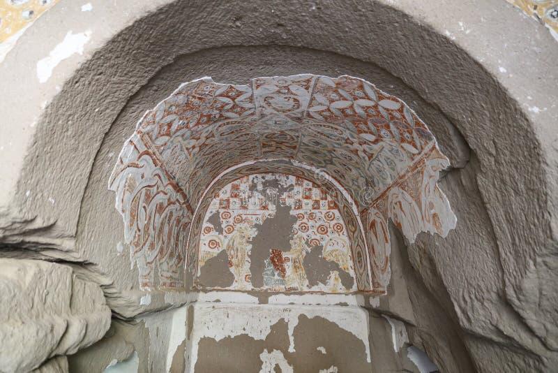 Agacalti-Kirche in Ihlara-Tal, die Türkei lizenzfreies stockbild