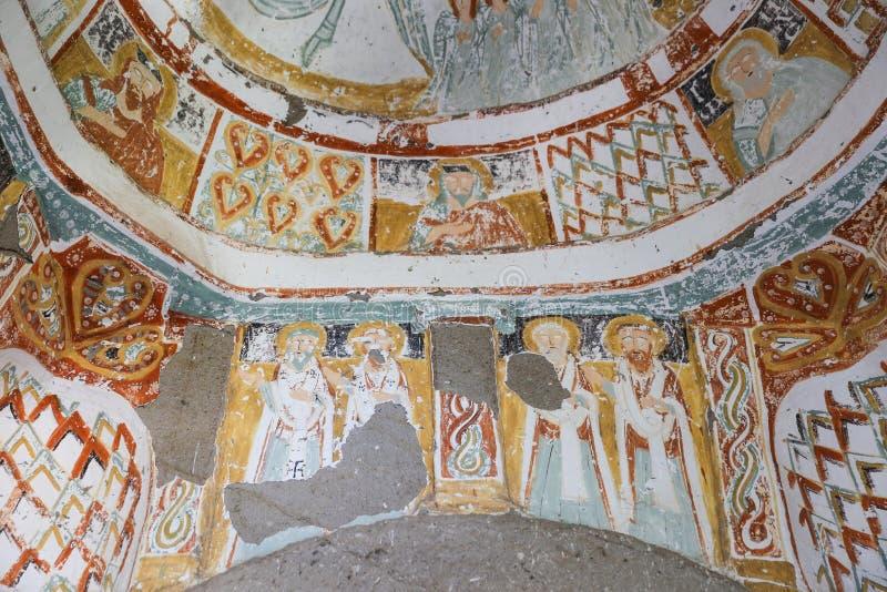 Agacalti-Kirche in Ihlara-Tal, die Türkei lizenzfreie stockfotos