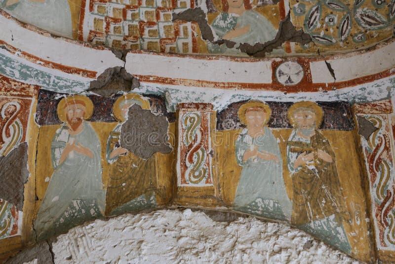 Agacalti-Kirche in Ihlara-Tal, die Türkei lizenzfreie stockfotografie