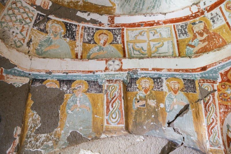 Agacalti-Kirche in Ihlara-Tal, die Türkei stockbilder