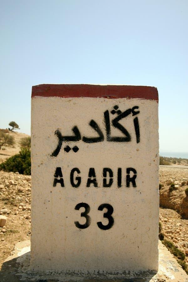 Agadir 33km obrazy royalty free