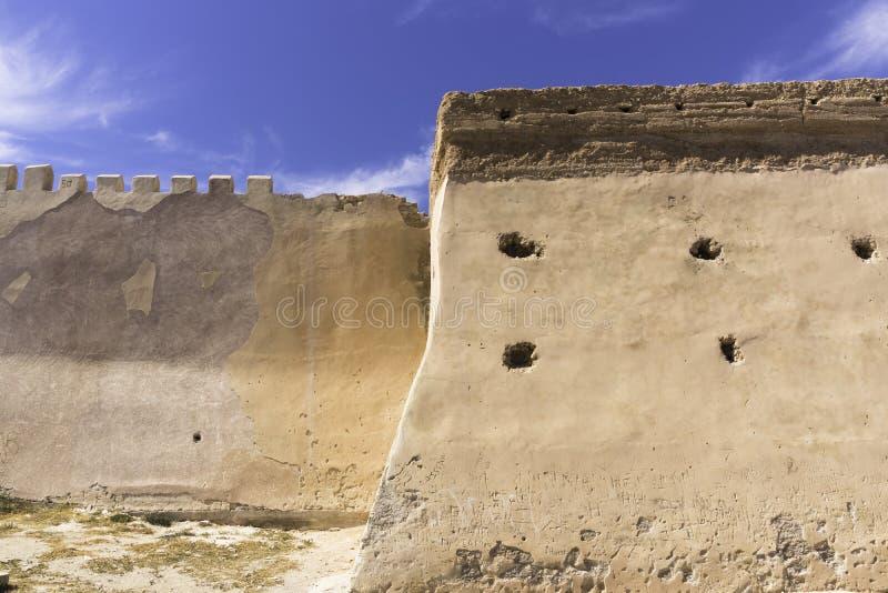 Agadir-kasbah stockbilder