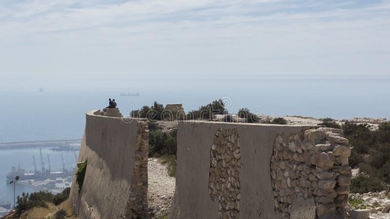 Agadir Kasbah stock afbeelding