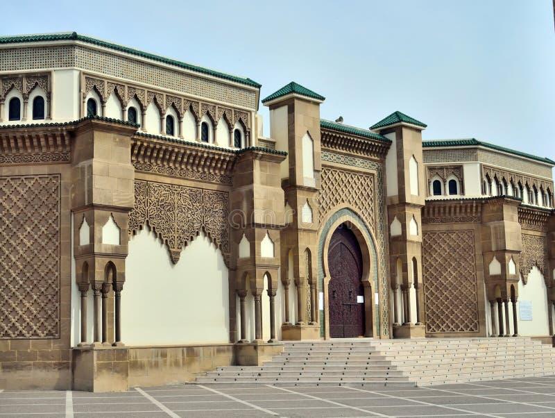 agadir morocco moské fotografering för bildbyråer