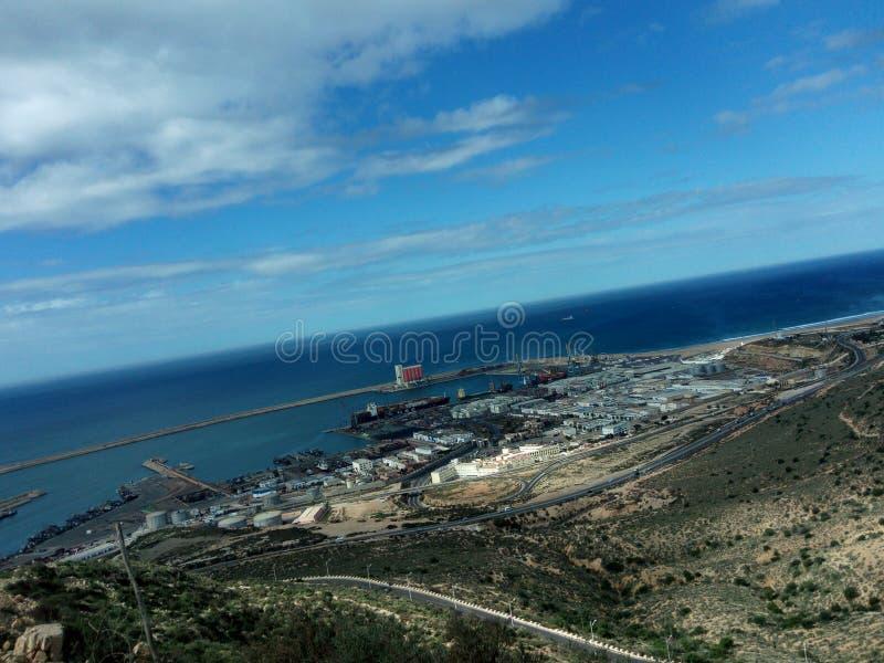 Agadir-Stadt stockfoto