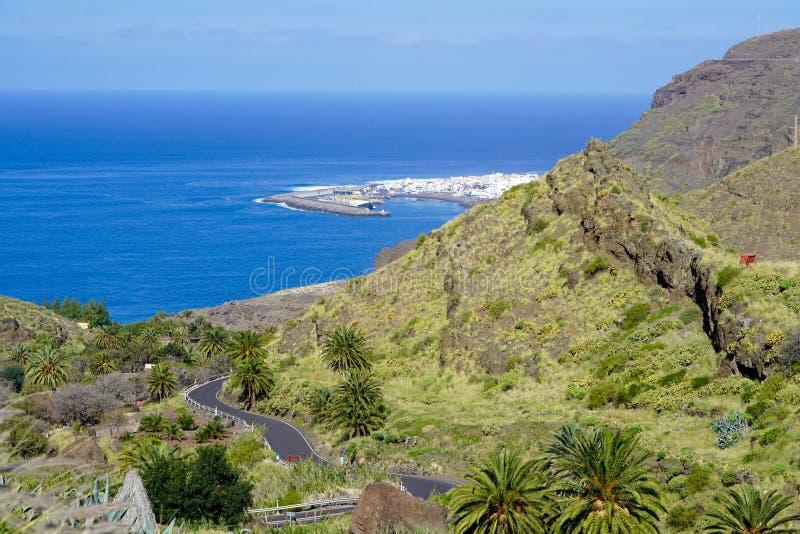 Agaete Gran Canaria стоковое фото