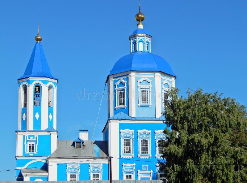 Intercession Church in Tambov. stock photography