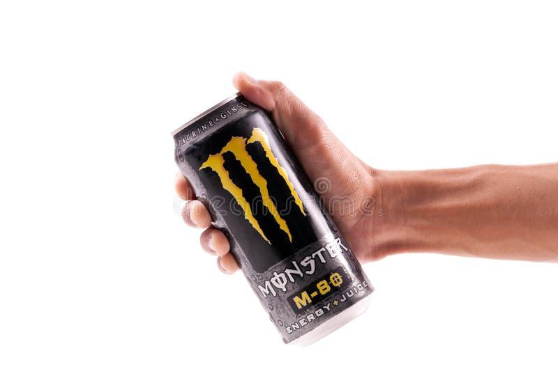 Agarrando-se um monstro