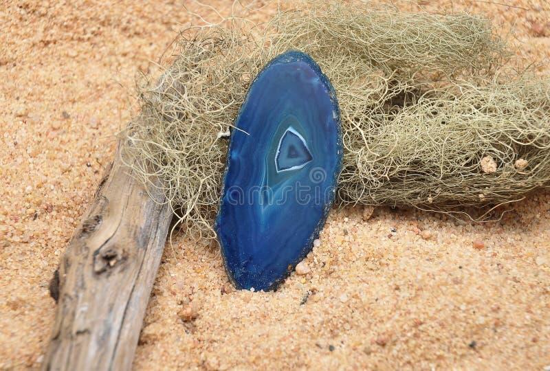 Agat na plaży zdjęcie stock
