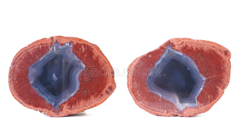 Agate in Rhyolite royalty free stock photos