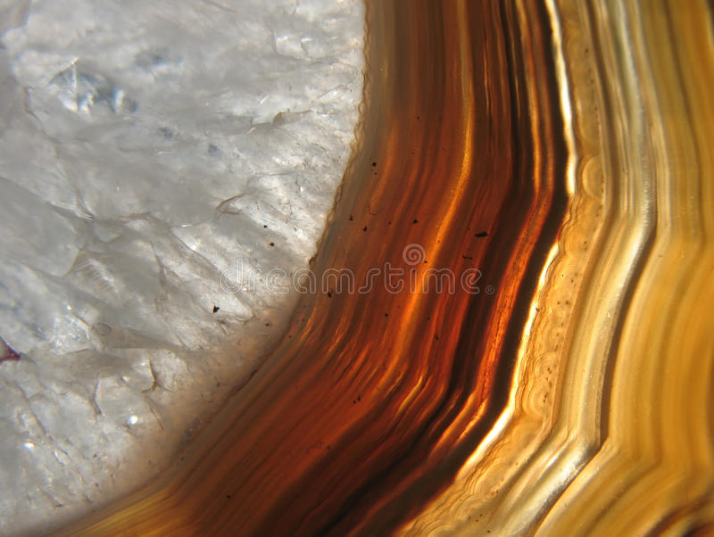 Download Agatean Vug (cavity) Filled With Rock Crystal Stock Image - Image: 13706937