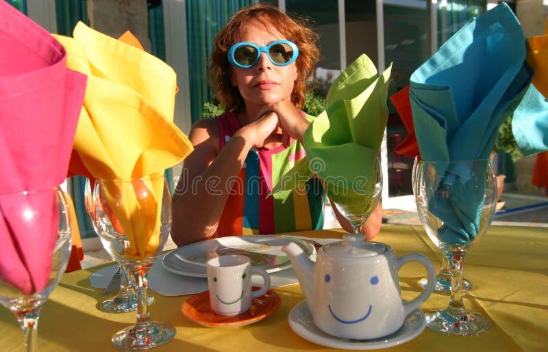 Agatha Ruiz de la prada stående 019 fotografering för bildbyråer