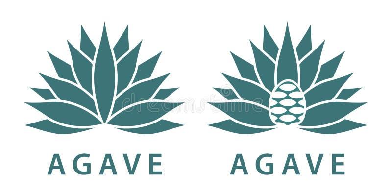 agave ilustração royalty free