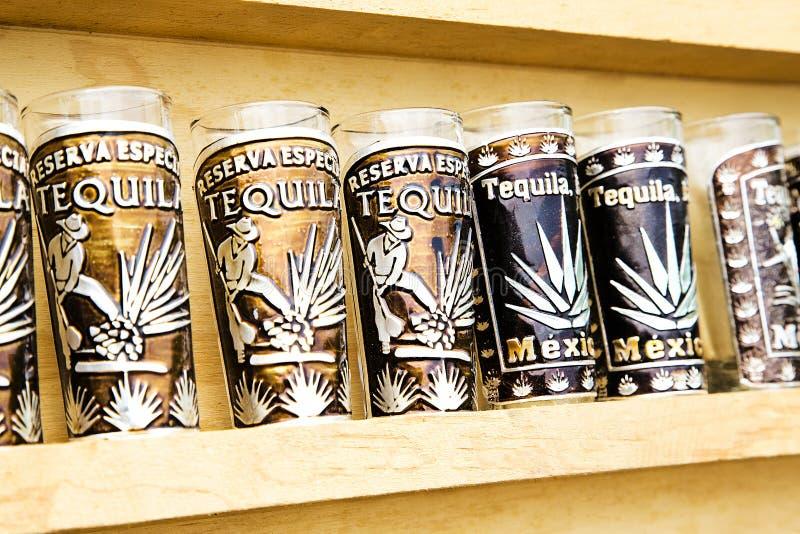 Agawy tequila produkcja zdjęcia stock