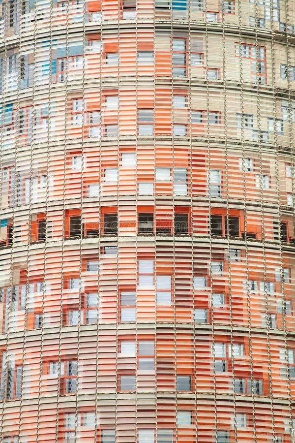 agbar башня barcelona стоковые изображения