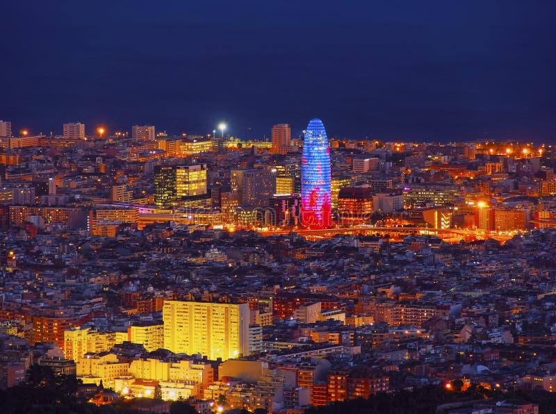 agbar巴塞罗那torre 免版税库存图片