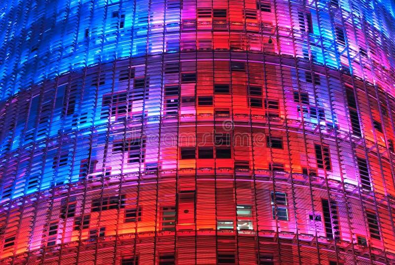 agbar barcelona torre royaltyfri bild